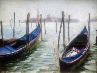 Painting - Venice by Erin Rickelton