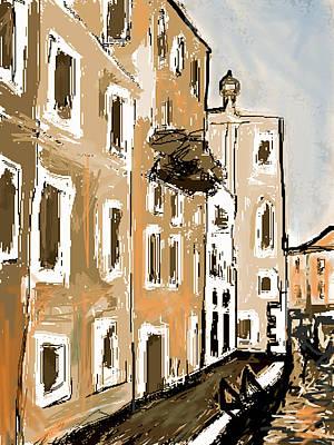 Venice Evening Original by Paul Sutcliffe