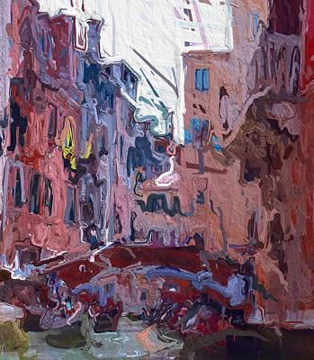 Venice Expressions Art Print by Steve K