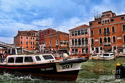 Photograph - Venice Fast Lane by Brenda Kean