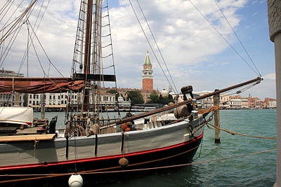 Photograph - Venice Fishing Boat by Andrew Fare
