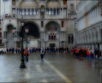 Photograph - Venice High Water by Caroline Stella