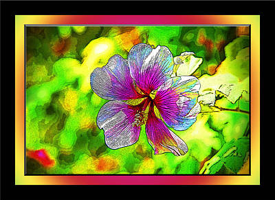 Venice Flower - Framed Art Print