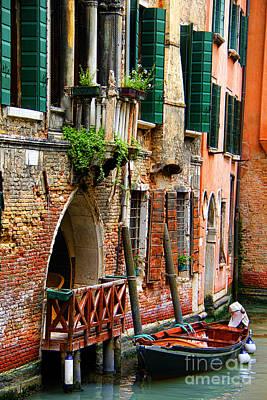 Venice Getaway Art Print