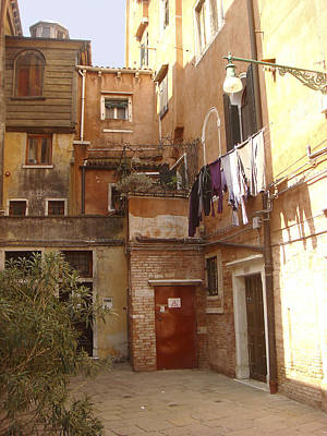 Photograph - Venice Ghetto by Karen Zuk Rosenblatt