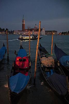 Photograph - Venice Gondolas by Doug Davidson