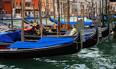 Venice Grand Canal 2 Art Print by Bob Christopher
