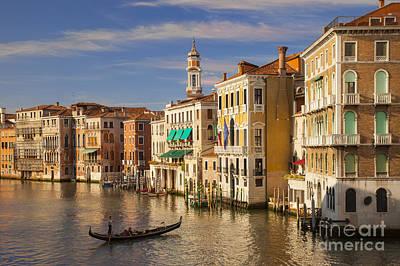 Romance Renaissance Photograph - Venice Grand Canal by Brian Jannsen
