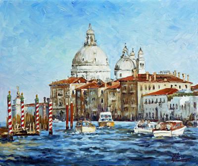 Painting - Venice - Grand Canal by Irek Szelag
