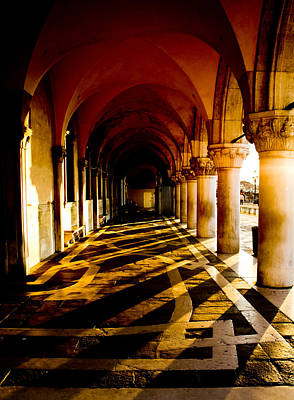 Photograph - Venice Hallway In The Morning by Anthony Doudt