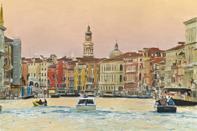 Photograph - Venice In Pastel by John Hix