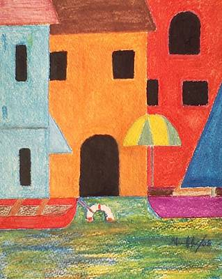 Painting - Venice In Pastel by Lew Griffin