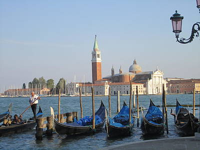 Photograph - Venice In Springtime by Artistic Indian Nurse