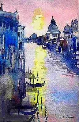 Painting - Venice In The Mood by Esther Woods