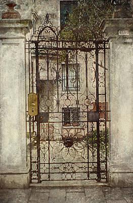 Thomas Kinkade - Venice Iron Gate by Suzanne Powers