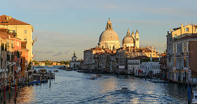 River Photograph - Venice Italy  by Brandon Bourdages