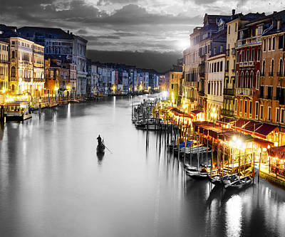 Venice Italy Art Print by Brian Reaves