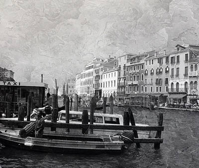 Venice Italy Cool Breeze Art Print by Brian Reaves