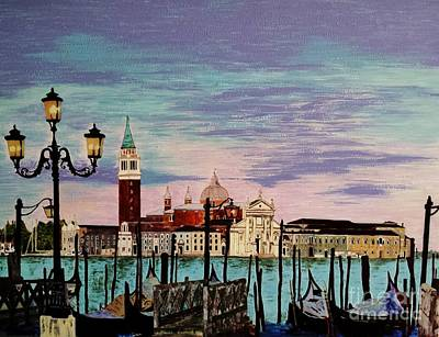 Painting - Venice  Italy By Jasna Gopic by Jasna Gopic