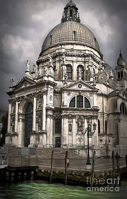 Venice Italy - Santa Maria Della Salute Art Print by Gregory Dyer