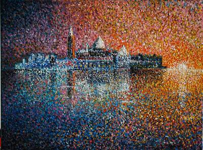 Venice Jewel Of The Adriatic Art Print by Les Conroy