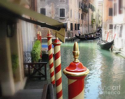 Photograph - Venice by Jodie Marie Anne Richardson Traugott          aka jm-ART