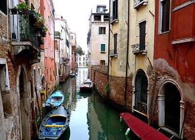 Venice Art Print by Bishopston Fine Art