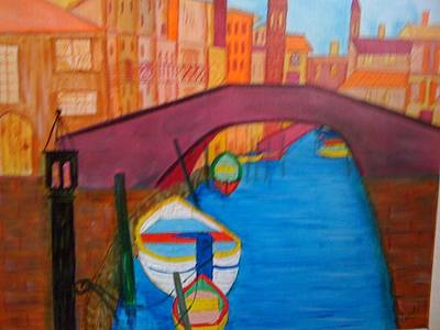 Venice Art Print by Judi Goodwin