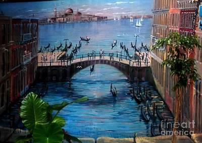 Venice Art Print by Kelly Awad