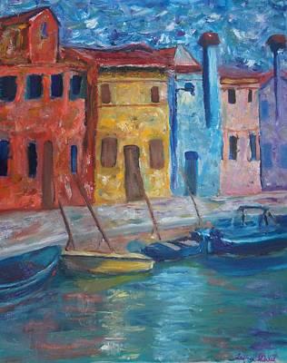 Painting - Portofino by Kristine Bogdanovich