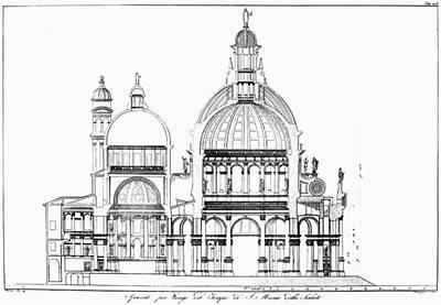Venice: La Salute Art Print by Granger