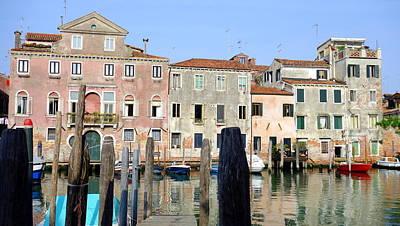 Photograph - Venice Marina by Valentino Visentini