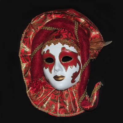Photograph - Venice Mask by Dragan Kudjerski