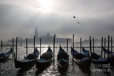 Venice Mist    Ery Art Print