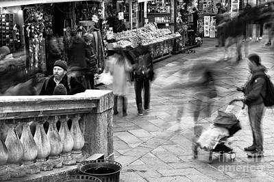 Photograph - Venice Motion I by John Rizzuto