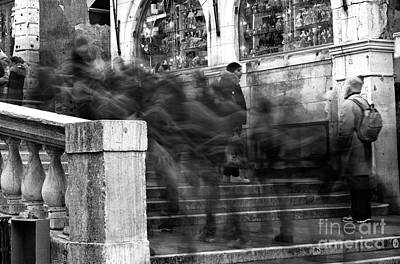 Photograph - Venice Motion II by John Rizzuto