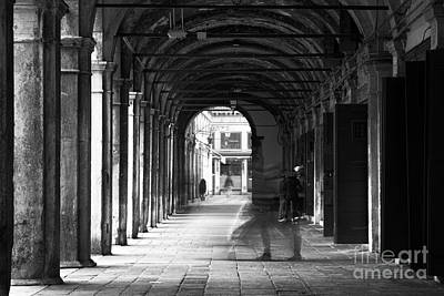 Photograph - Venice Motion IIi by John Rizzuto