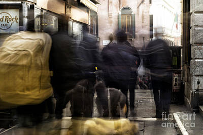 Photograph - Venice Motion Iv by John Rizzuto