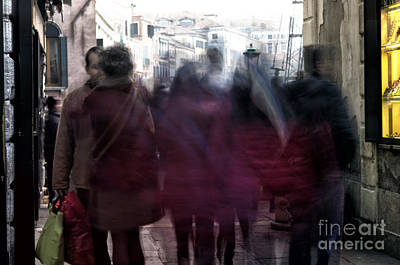 Photograph - Venice Motion V by John Rizzuto