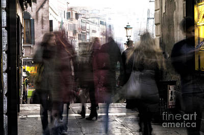 Photograph - Venice Motion Vi by John Rizzuto