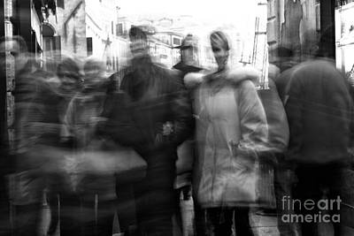 Photograph - Venice Motion Vii by John Rizzuto