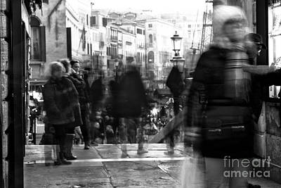 Photograph - Venice Motion Viii by John Rizzuto