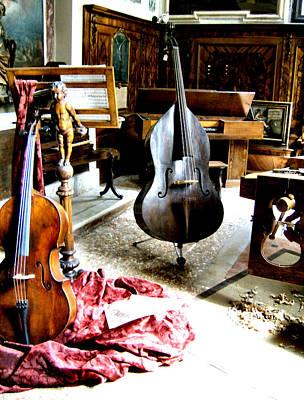 Venice Music 1 Art Print
