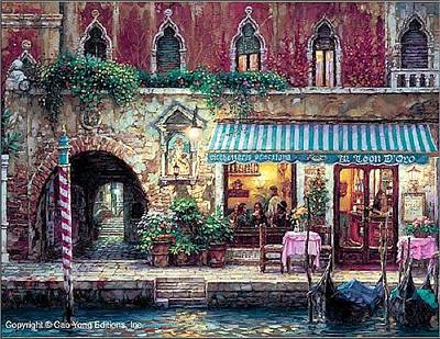 Painting - Venice Nights by Cao Yong