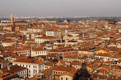 Offbeat Photograph - Venice Italy - No Canals by Georgia Mizuleva