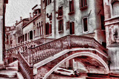 Photograph - Venice Painting by Greg Sharpe