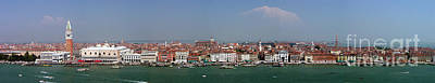Art Print featuring the photograph Venice Panorama by Art Photography