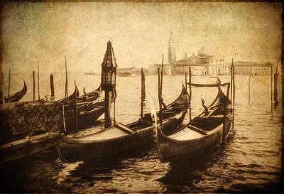 European City Digital Art - Venice Postcard by Jessica Jenney