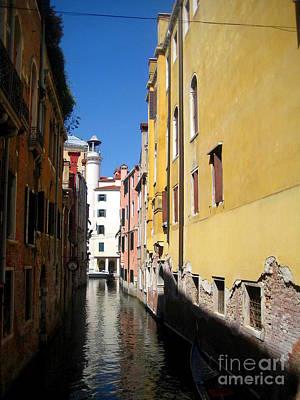Venice Primary Colors Art Print