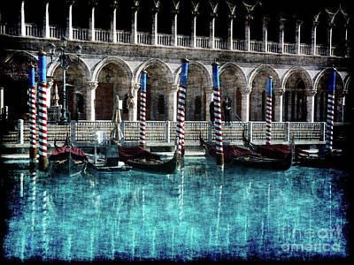 Photograph - Venice Reflected by David Bearden